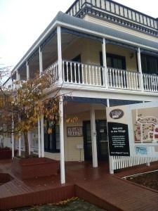 Tauranga Historic Village Hall       Photo Rosemary Balu