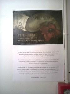 Exhibition Statement         Photo Rosemary Balu