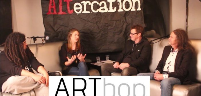 John Baxter and panel talk with Millie Newitt Altercation 2016