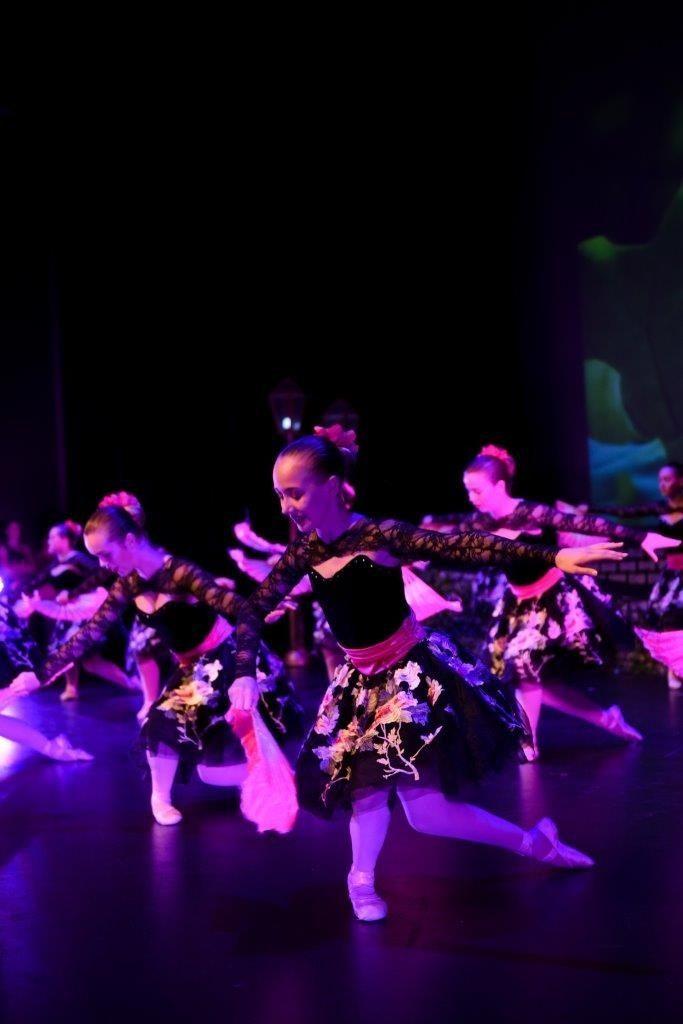Spanish ballet group