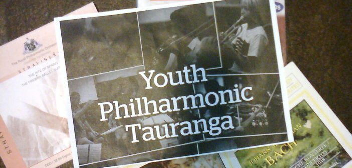 Youth Philharmonic Tauranga Part I: please put your daughter on the stage Mrs W.