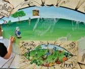 NZ Mural Contest and Art Festival:  Katikati Open Air Art 2017: The Future is our Children