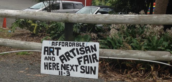 uPflash: painting up a storm – the first Affordable Art & Artisan Fair this Sunday