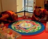Tauranga Art Gallery looking back over 2017: Medicine Buddha Sand Mandala