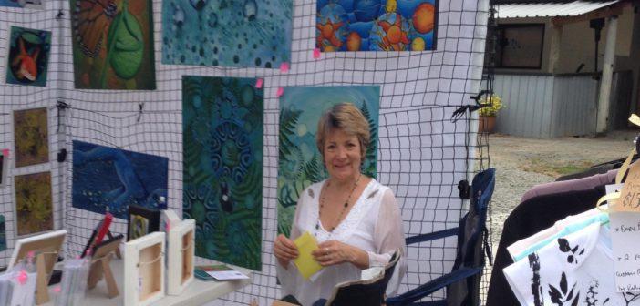 Birgitt Shannon:  hardworking Kati Kati artist