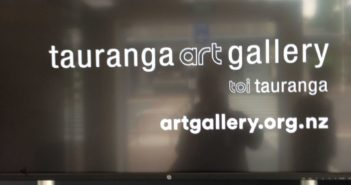 A Baseman at the Tauranga Art Gallery